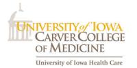 August 17 – University of Iowa Carver School of Medicine; 11:00 – 1:00; Iowa City, IA
